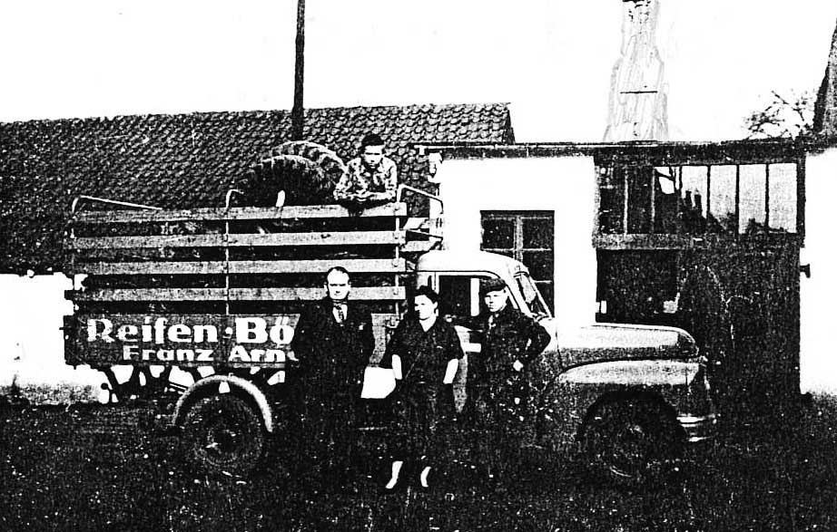 Heinz-Walter Arnold begann mit der Altreifenentsorgung und dem Karkassenhandel